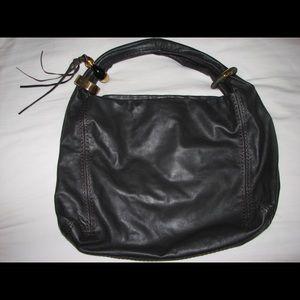 Jimmy Choo Black Leather Bag